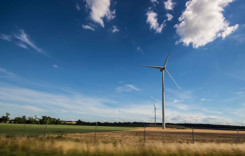 Wind energy is an example of alternative energy source