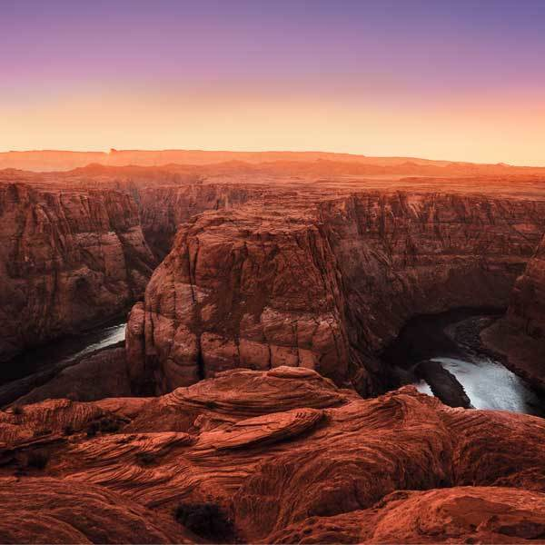 The Grand Canyon in Arizona is one of the world's most popular vistas
