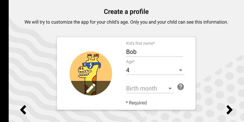 Create customisable, separate profiles on the YouTube Kids app