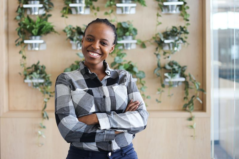 Naledi Modise is one of the women in Big Data at Vodacom