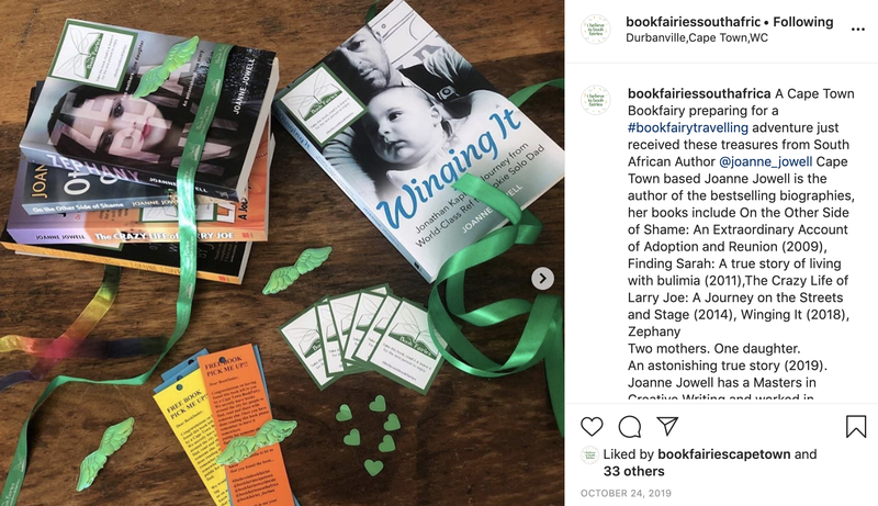 Follow Book Fairies South Africa on Instagram