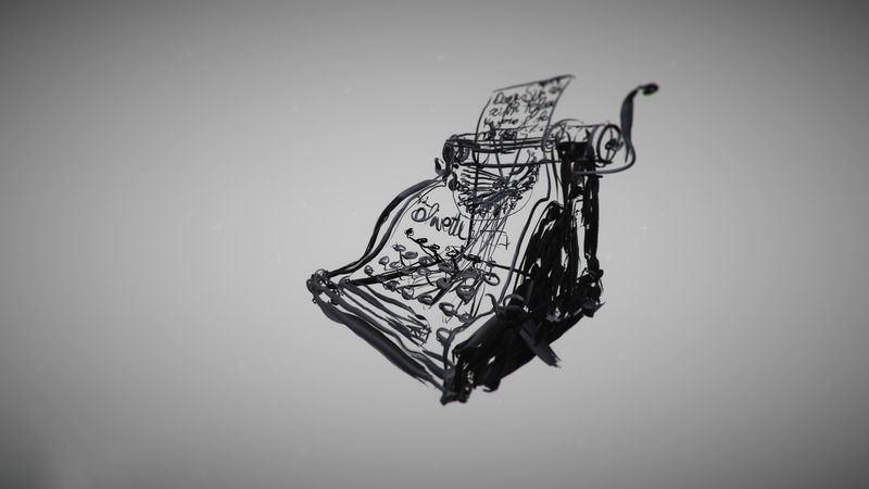 William Kentridge typewriter