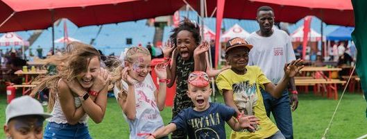 Family fun with Vodacom Red